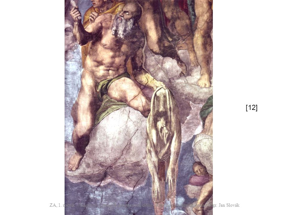 [12] ZA, 1. ročník / Kapitoly z českých a světových dějin, Renesance a humanismus / Mgr.